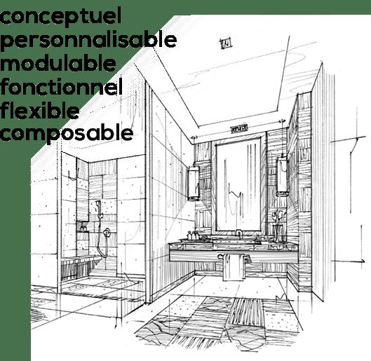 Como Cucine - Cuisines et bains personnalisable modulable et fonctionelle